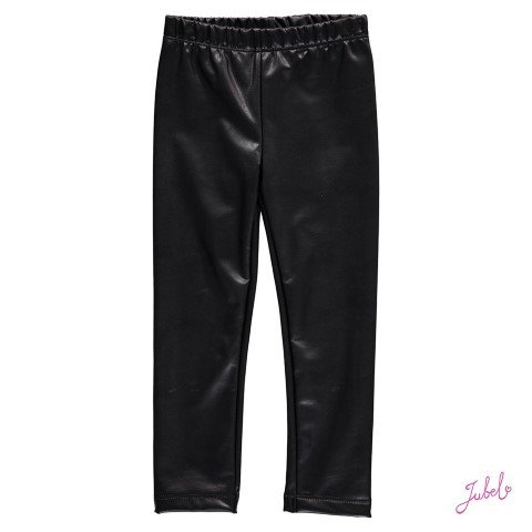 Jubel Legging Lederlook zwart
