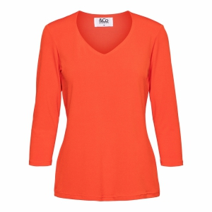 &Co Woman top Lovi Cayenne