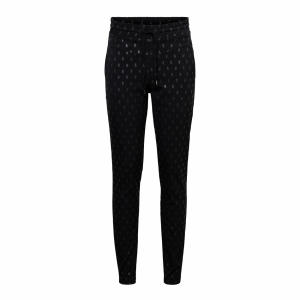 &CO Woman pants penny print (Black)