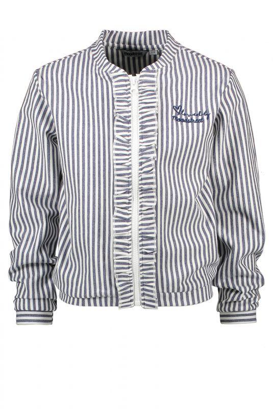 Moodstreet Vest/jasje ruffle (navy)