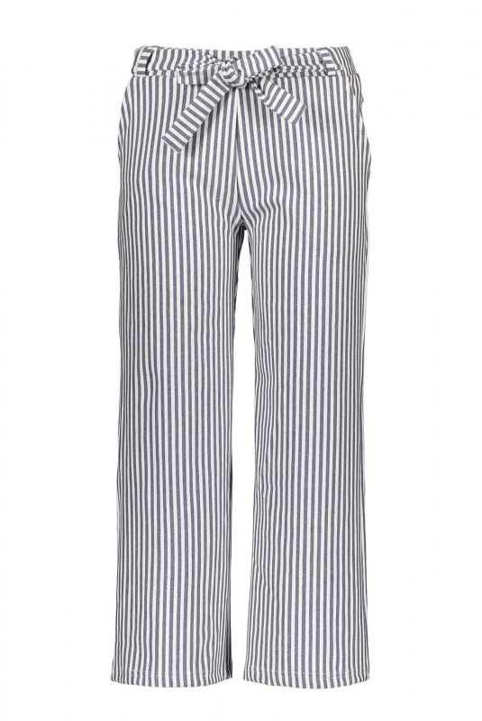Moodstreet Broek striped (navy)
