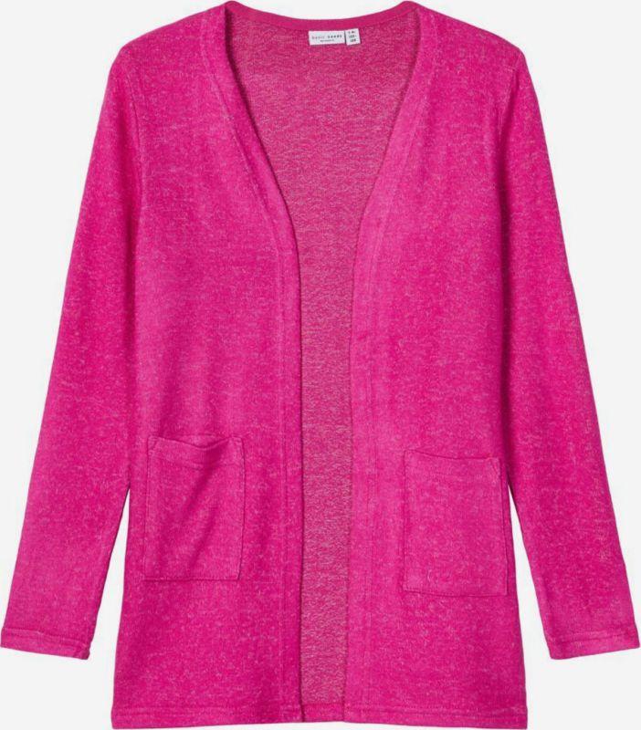 Name-it gebreid vest roze
