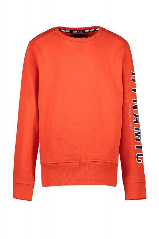 Cars sweater oranje