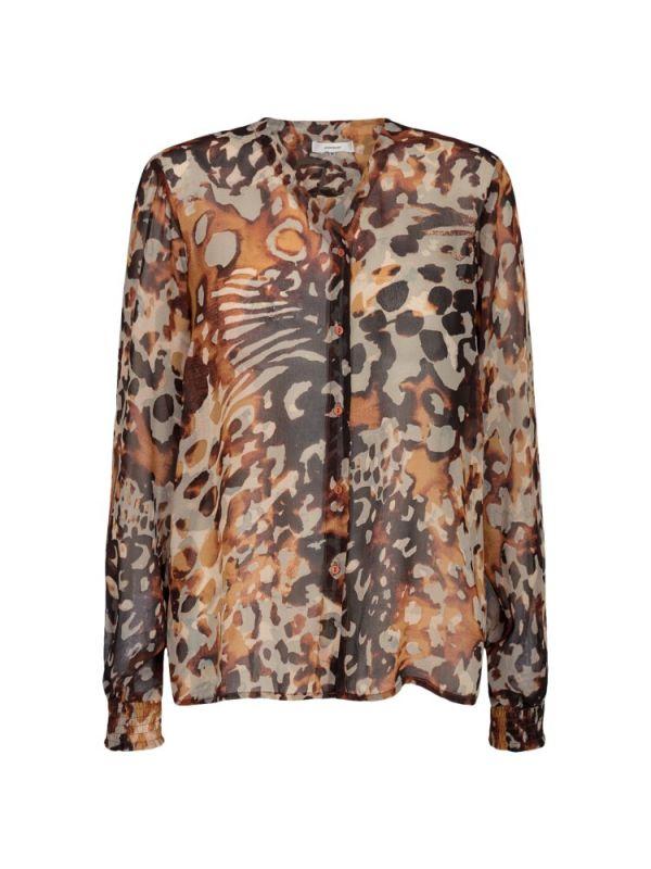 SoyaConcept doorschijnende blouse