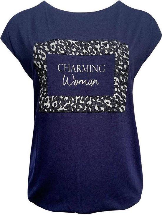 Elvira T-shirt Charming Navy