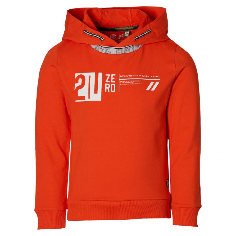 Quapi Hoodie Figo (Orange/Red)