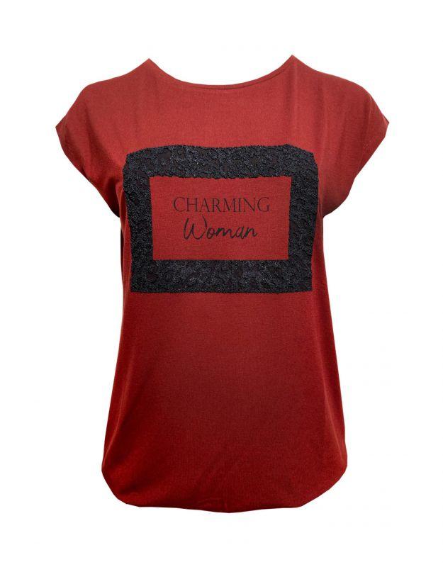 Elvira T-shirt Charming Cognac