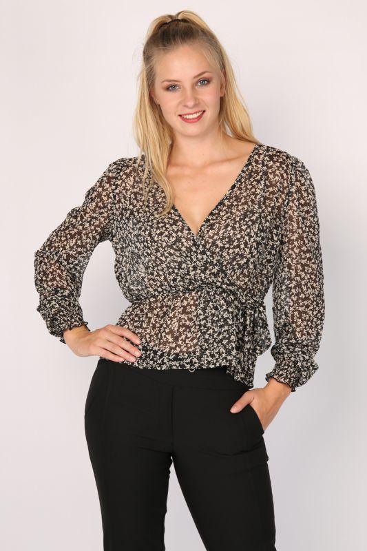 Elvira overslag blouse