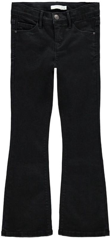Name-it zwarte flair pants spijkerbroek meiden Becky