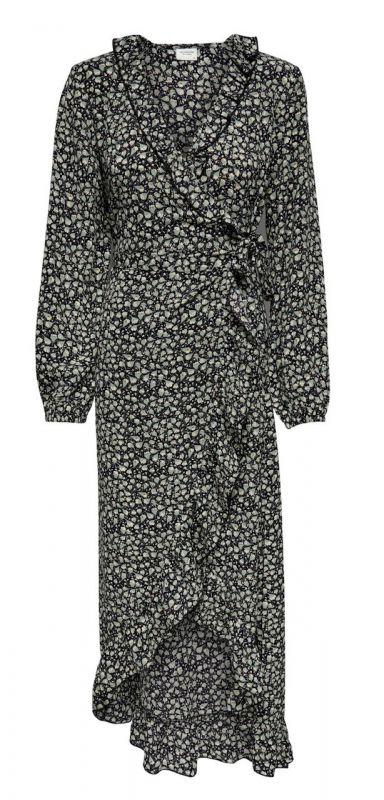 Jacqueline de Yong lange jurk (Mintgroen)