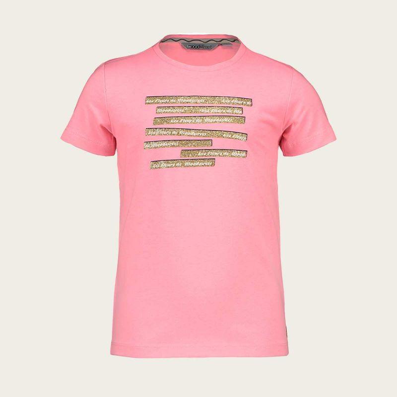Moodstreet t-shirt (sparkling pink)